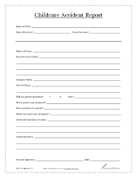 Images Of Violating Incident Report Template Ms Word Free