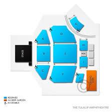 Tulalip Amphitheatre 2019 Seating Chart