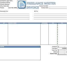 lance writing invoice net lance writer invoice template excel pdf word doc