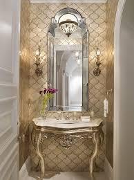 powder room lighting ideas. Best 25 Gold Powder Ideas On Pinterest Feminine Bathroom Victorian Mirrors And Bathrooms Room Lighting