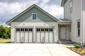 Painted Garage Doors Garage Before Diy Paint Garage Door To Look