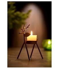 Iron Tea Light Holders Royalkues Black Table Top Iron Tea Light Holder Pack Of 4