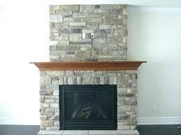 stone veneer fireplace surrounds tile natural surround gas limestone mantels veneers cool rock diy s stone veneer fireplace