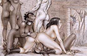 Fucking my black slave on plantation