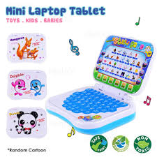 prado msia mini laptop tablet with educational kids early learning toy toys zj111