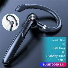 2021 yeni 170H Bluetooth 5.0 kulaklık kablosuz kulaklık Trucker Handsfree  kulak içi kulaklık kulaklık Spin iş Stereo toptan sipariş |  Kulaklıklar-telefon Ve Radyo Kulaklıkları - Emporium-Taze.today