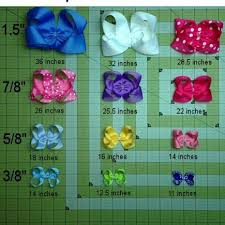 How Much Ribbon Do I Need To Make A Hair Bow Diy Hair