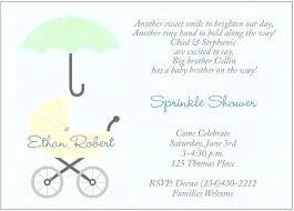 Baby Shower Invitation Text Message Sample Invitations