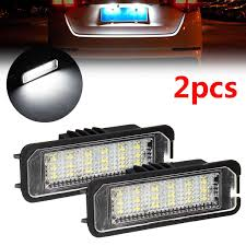 Lupo Lights Australia 2019 Wholesale Led License Plate Light For Vw Golf 4 5 Passat 3c Limo Lupo Polo 9n Universal Cable Auto Car Lights Signal Lamp From Jinggongcar