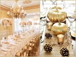 gold wedding tablescape ideas from hotref com