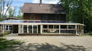 polycarbonate deck roof