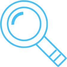 magnifying glass icon blue. Fine Magnifying Caribbean Blue Magnifying Glass 2 Icon For Magnifying Glass Icon Blue