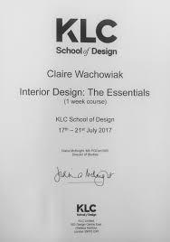 Klc School Of Design In London Workshops 2017_2019 Claire Wachowiaks Portfolio