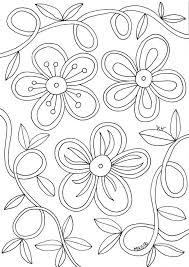 Bloemen Kleurplaten Printen Kleurplaat Vor Kinderen 2019 Within
