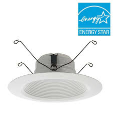 Lithonia Lighting Recessed Lighting Lithonia Lighting E Series 5 In And 6 In Matte White Recessed 3000k Led Baf
