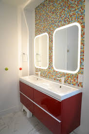 double sink bathroom mirrors. Magnificent Kids Bathroom Mirror With Single Handle Faucet Double Sink Cabinet Mirrors E