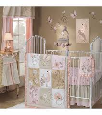 stylish lambs ivy fawn 5 piece crib bedding set baby aviator