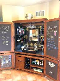 armoires armoire bar ideas large size of bar ideas turned storage great idea for an