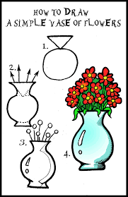 Small Picture draw flowers Daryl Hobson Artwork How To Draw A Vase Of Flowers
