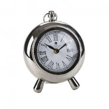 table clock francois round small