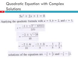 complex numbers properties powers of i