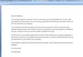 Cover Letter For A Job Cover Letter For First Job Resume Badak 24