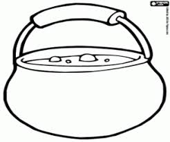 Small Picture Cooking pot full of food coloring page printable game