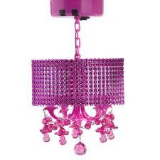 pink locker chandelier pbteen lighting ideas