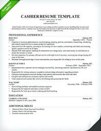 Retail Merchandiser Resume Sample Cashier Resume Sample Professional