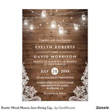 String Of Lights Rustic Wedding Invitation Pin On Wonderful Wedding Invitations