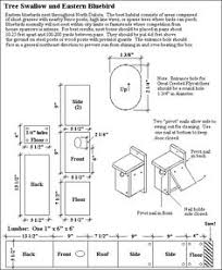 bluebird house plans. Http://www.welchproperty.com/cannon/buildingbh.htm. Bird House PlansWood Bluebird Plans