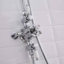 hudson reed triple exposed thermostatic shower valve a3089e