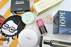 korea makeup haul