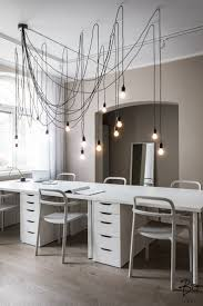 Image Gray Contemporary Scandinavian Office Design By Peeta Peltola Bo Lkv Offices Creative Office Lighting Ideas Proudautisticliving Contemporary Office Design With Impressive Lighting In 2019