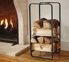 design fireplace log storagewhite cabana white cabana