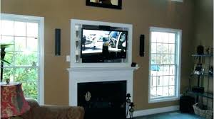 mount tv on brick mounting a over a fireplace mounting over fireplace how to hide cords