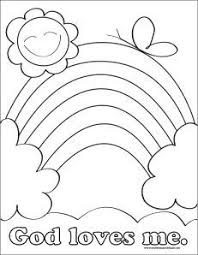 Small Picture God Loves Me Coloring Pages Printable Preschool Valentine Crafts