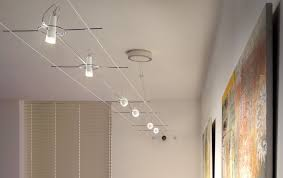 terrific line modern track lighting. Chic Suspended Ceiling Track Lighting Install On Drop Terrific Line Modern T