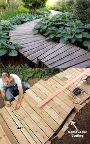 25 most beautiful diy garden path ideas