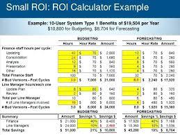 Excel Roi Template - Kleo.beachfix.co