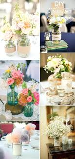 rustic inspired mason jars wedding table setting and centerpieces decorating ideas centerpiece diy for your reception
