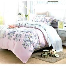 pink gray bedding