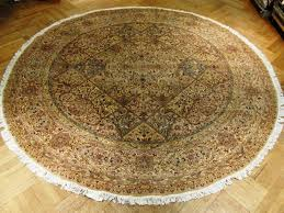 image of round rug 8 inch