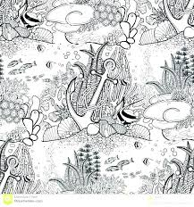 anchor coloring page nautical coloring pages nautical coloring pages anchor coloring page nautical coloring pages ship anchor coloring page