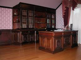 furniture for a study. Fantastic Study Room Models With Wood Furniture For Natural Look : Astonishing Modern A