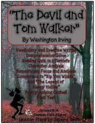 devil and tom walker washington irving short story ccss deals lots of engaging activities for the devil and tom walker