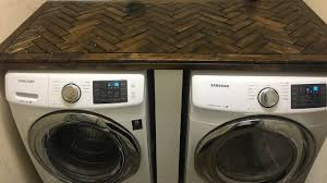 countertop washer dryer. Modren Washer DiY How To Build A Laundry Room Counter Top And Countertop Washer Dryer G