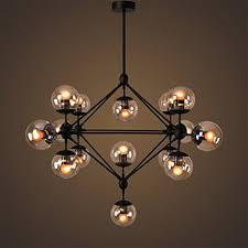 glass ball lighting. LightInTheBox Vintage Chandeliers 15 Lights/Glass Ball Lights/Retro Pendent Lights  Lighting Fixture For Glass Ball Lighting E