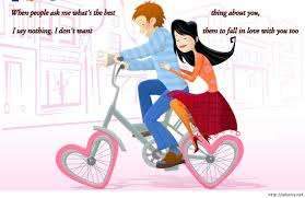 Funny Love Cartoon Couple Valentines Day Wishes Funny Free