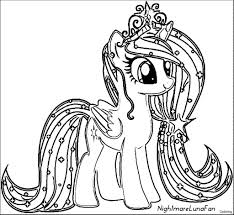 Coloring Page My Little Pony Sweetie Belle Coloring Page Pages